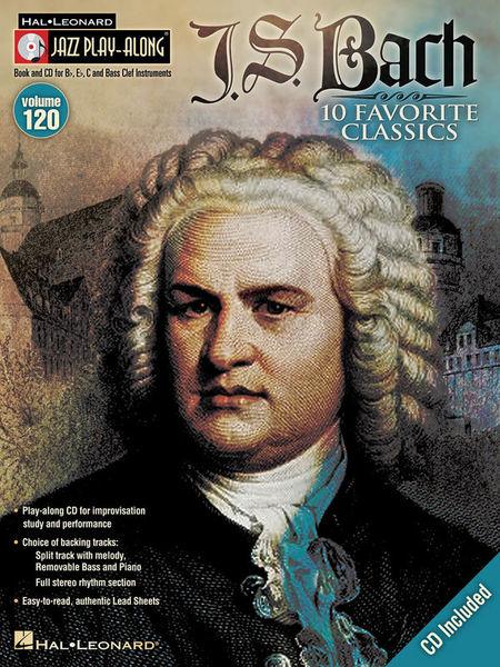 Jazz Play-Along J.S.Bach Hal Leonard