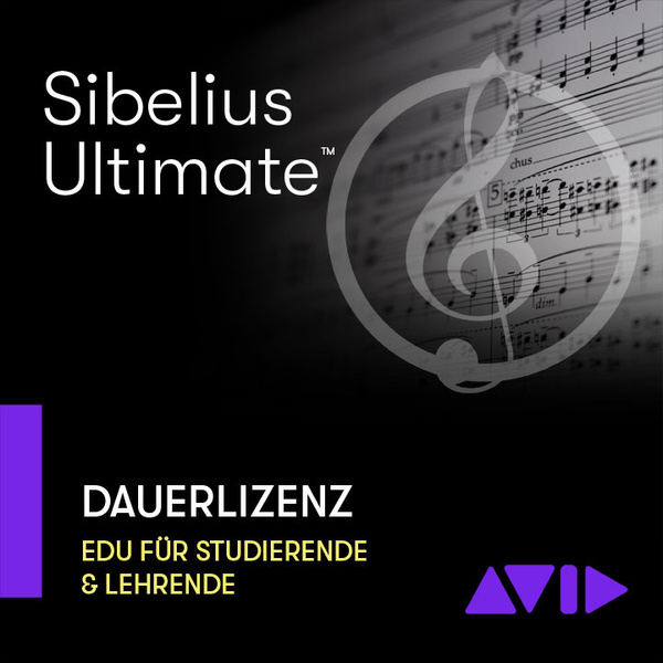 Sibelius Ultimate EDU Avid