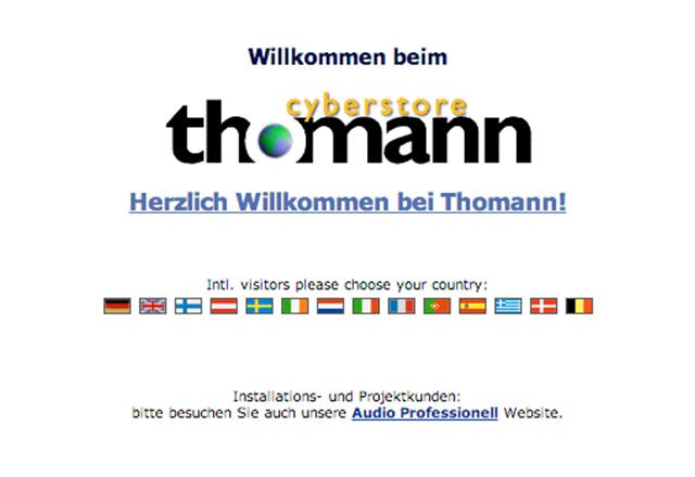 New Thomann Online Store