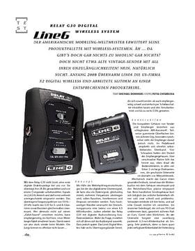 Line6 Relay G30 Digital Wireless System