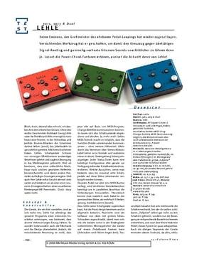 Lehle 3at1, 1at3 & Dual, Signal-Looper