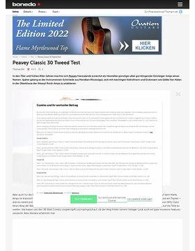 Peavey Classic 30 Tweed