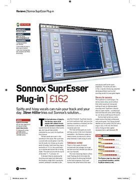 Sonnox SuprEsser