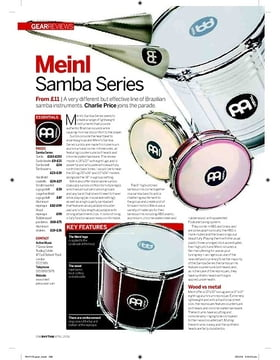 Meinl Samba Series