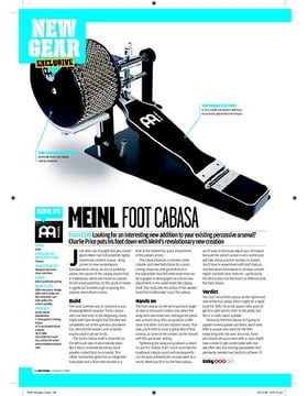 Meinl Foot Cabasa