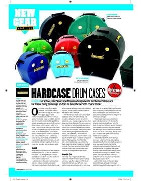 HARD CASE DRUM CASES