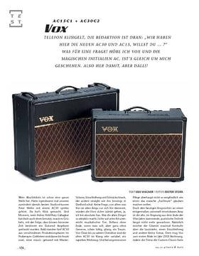 Vox AC15C1 & AC30C1, Röhren-Combos
