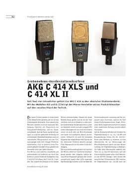 AKG C 414 XLS und C 414 XL II