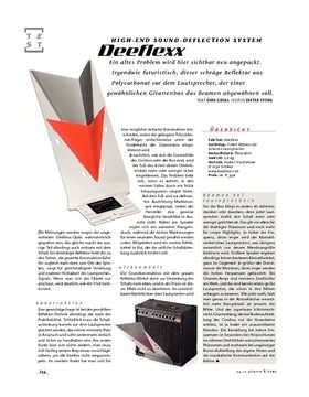 Deeflexx High-end sound-deflection system