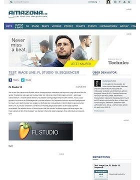 Test: Image Line, FL Studio 10, Sequencer