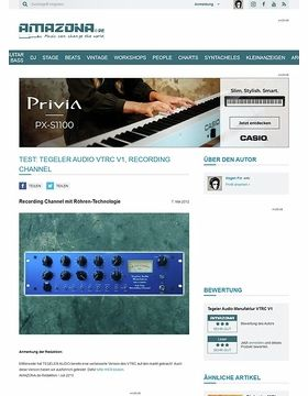 Test: Tegeler Audio Manufaktur, Vari Tube Recording Channel, Röhren-Channelstrip