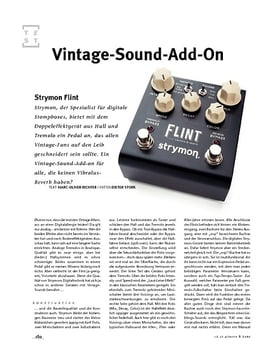 Strymon Flint, Tremolo- & Reverb-Pedal