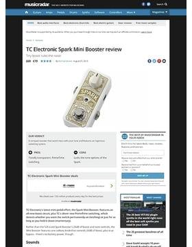 TC Electronic Spark Mini Booster
