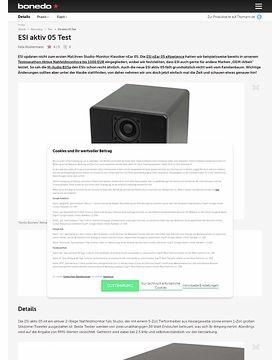 ESI aktiv 05 Test