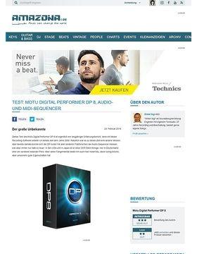 Test: Motu Digital Performer DP 8, Audio- und MIDI-Sequencer
