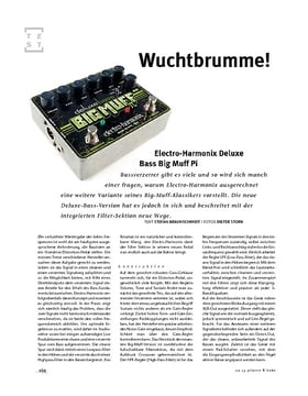 Electro-Harmonix Deluxe Bass Big Muff Pi, Bass-Zerrer