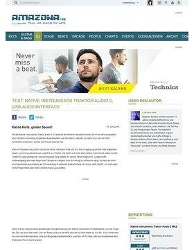 Test: Native Instruments Traktor Audio 2, USB-Audiointerface