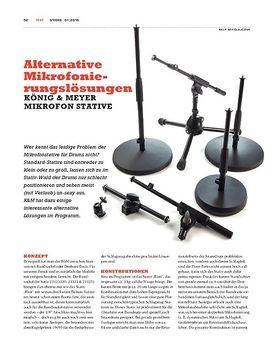 König & Meyer Mikrofonstative - Alternativen für die coole Optik