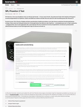 SPL Phonitor 2