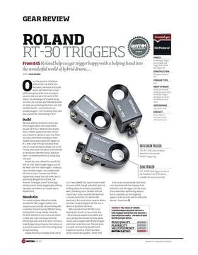 Roland RT 30 Triggers