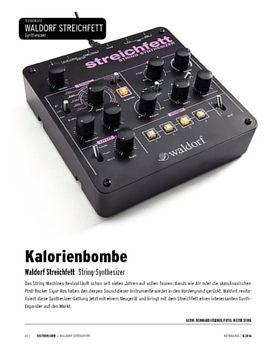 Waldorf Streichfett - String-Machine-Synthesizer