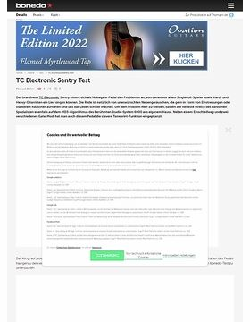 TC Electronic Sentry