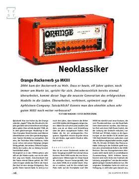 Orange Rockerverb 50 MKIII