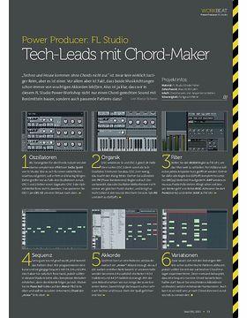 FL Studio - Tech-Leads mit Chord-Maker