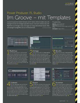 FL Studio - Im Groove – mit Templates