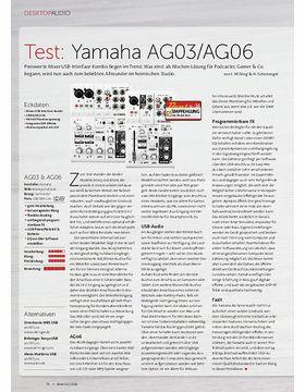 Yamaha AG03/AG06