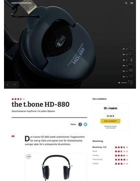 the t.bone HD 880
