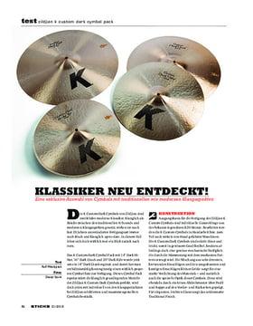 Zildjian K Custom Dark Cymbal Pack