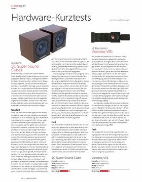 Auratone 5C und SE Electronics Voodoo VR1
