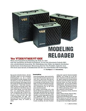 Vox VT20X/VT40X/VT100X, Modeling-Combos