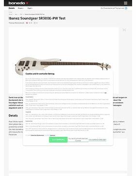 IBANEZ SOUNDGEAR SR300E