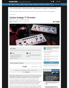 Cyclone Analogic TT-78