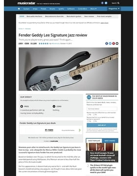 Fender Geddy Lee Signature Jazz