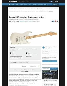 Fender EOB Sustainer Stratocaster