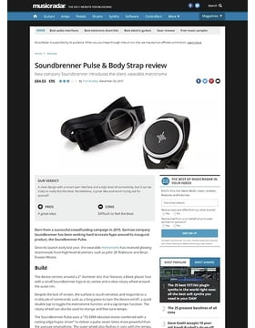 Soundbrenner Pulse & Body Strap