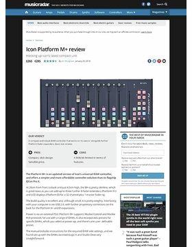 Icon Platform M+
