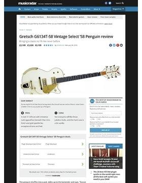 Gretsch G6134T-58 Vintage Select '58 Penguin