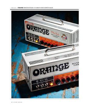 Orange Terror Rocker 15 Head