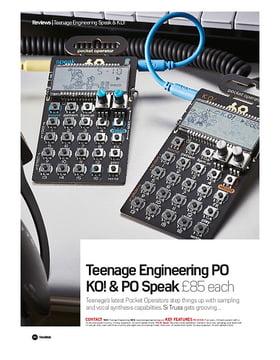 Teenage Engineering Po KO! And PO Speak