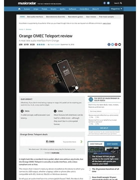 Orange OMEC Teleport