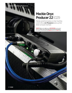 Mackie Onyx Producer 22