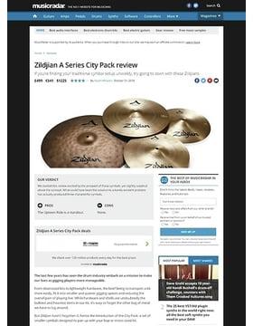Zildjian A Series City Pack