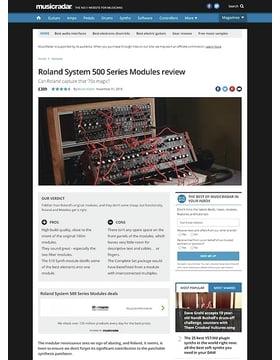 Roland System 500 Series Modules