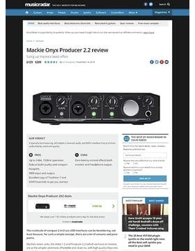 Mackie Onyx Producer 2.2