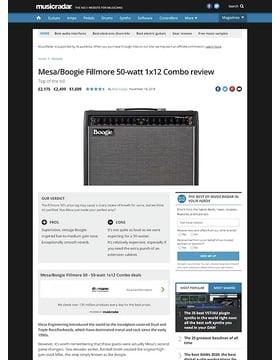 Mesa/Boogie Fillmore 50-watt 1x12 Combo