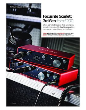 Focusrite Scarlett 3rd Gen